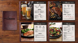 Longhorn Steakhouse Menu Redesign- Dinner