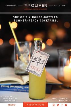 The Oliver - Bottled Cocktail Tags
