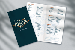 El Royale Dinner Menu