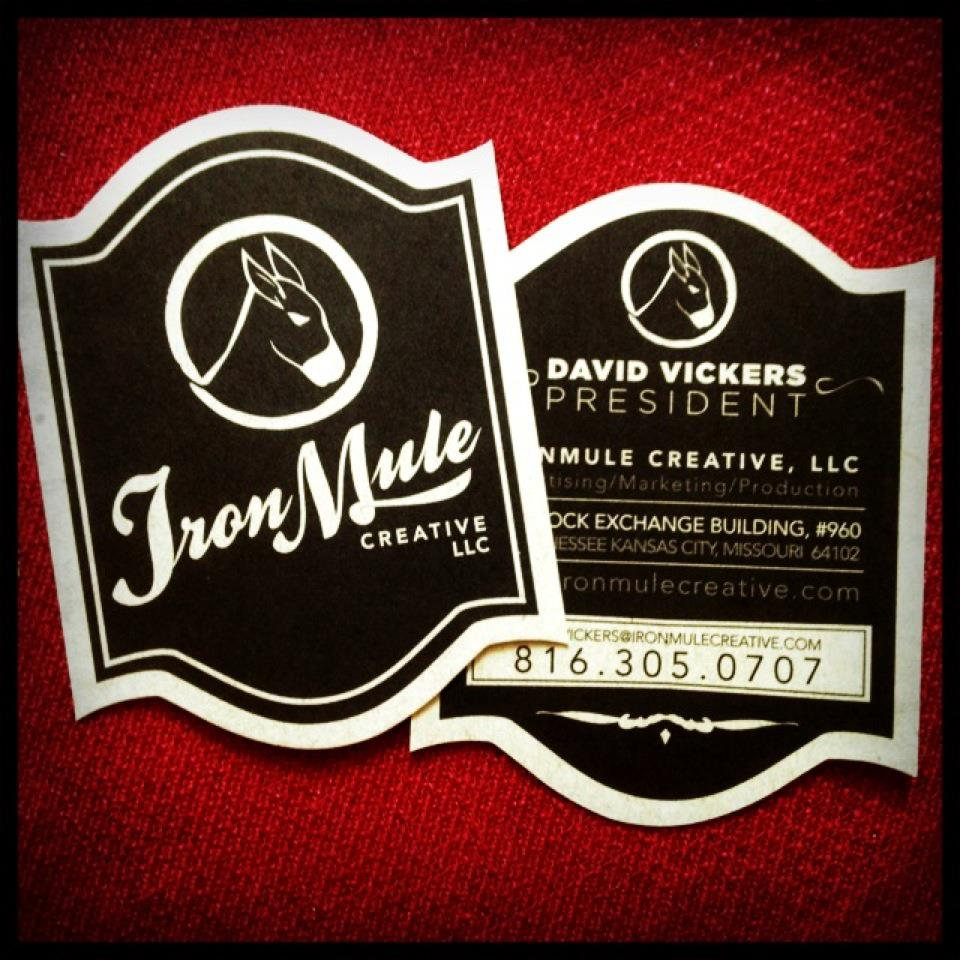 IronMule Logo/Biz Card Design