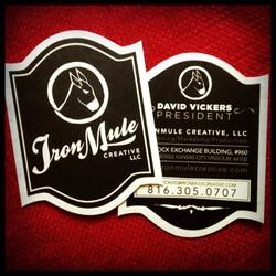 IronMule Logo/Biz Card Design