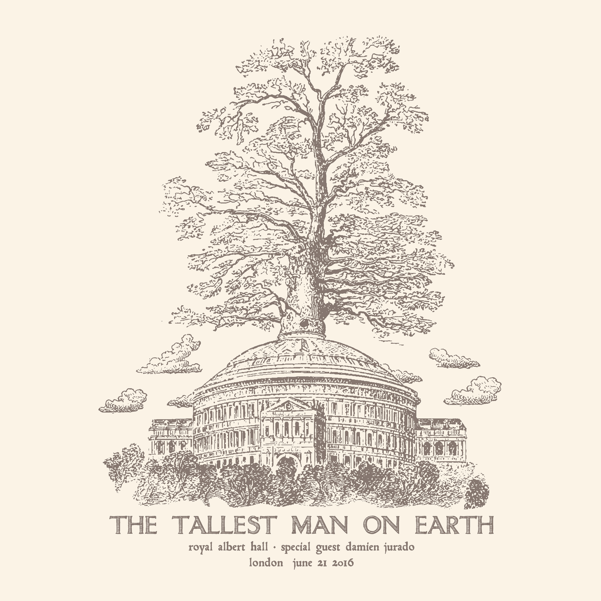 the tallest man on earth tshirt