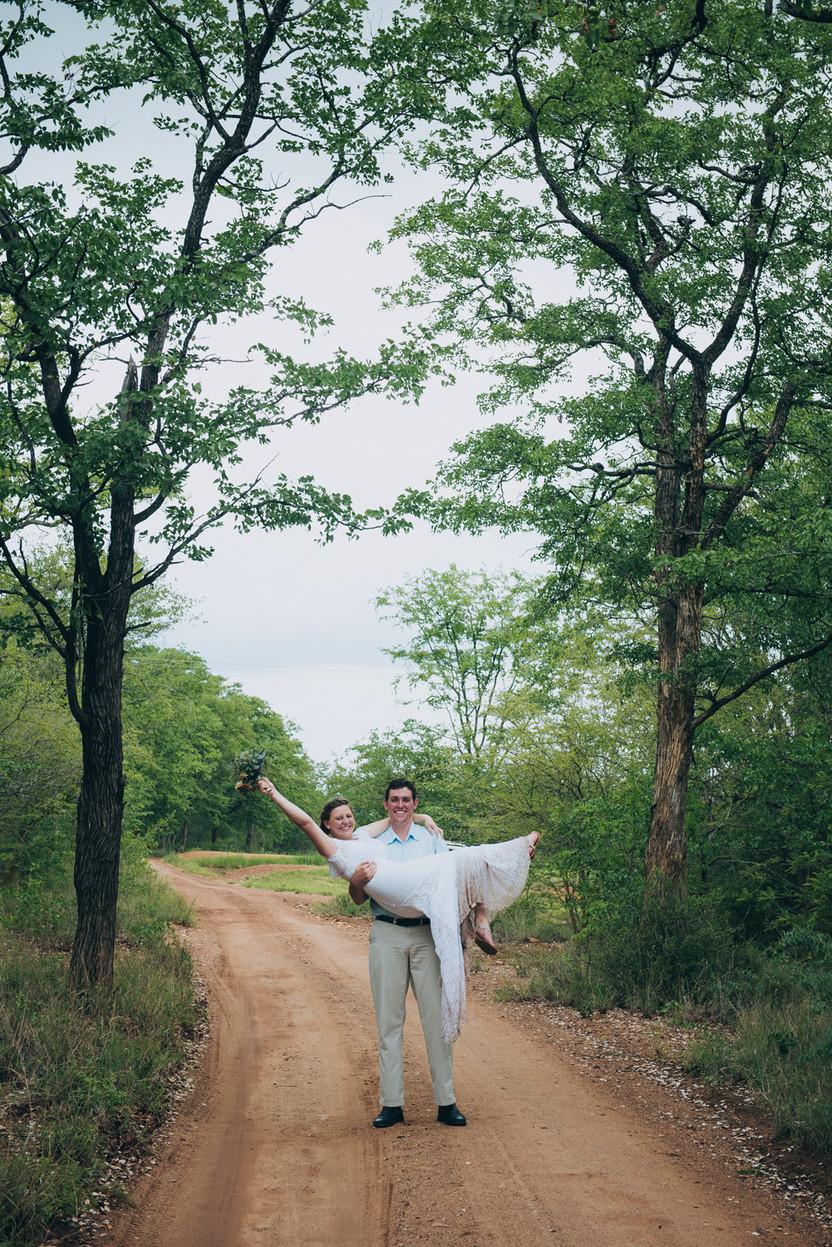 Bridget and Bryce's Zimbabwe Wedding