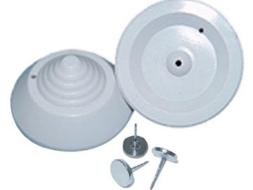 Tag Mini Cone RF + P01 Clou métal tête plate 16 mm Promatic-T002