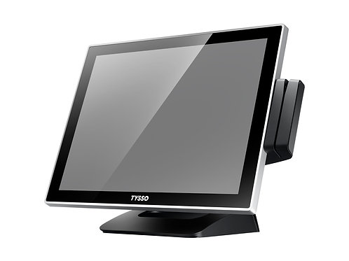 Terminal Fanless Full Flat Touch Screen POS TYSSO-POS-1000