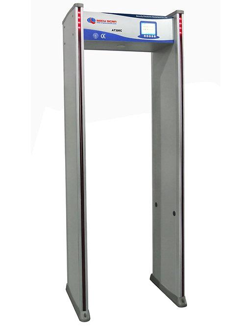 Portique de détection de métaux SECUSCAN-AT300C