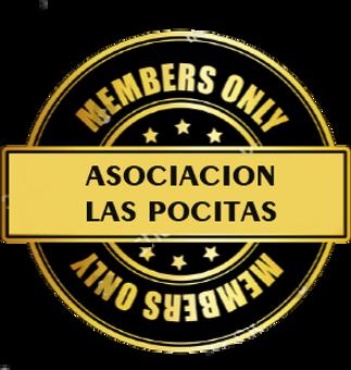 logo que identifica a los miembros de La Asociacion Las Pocitas