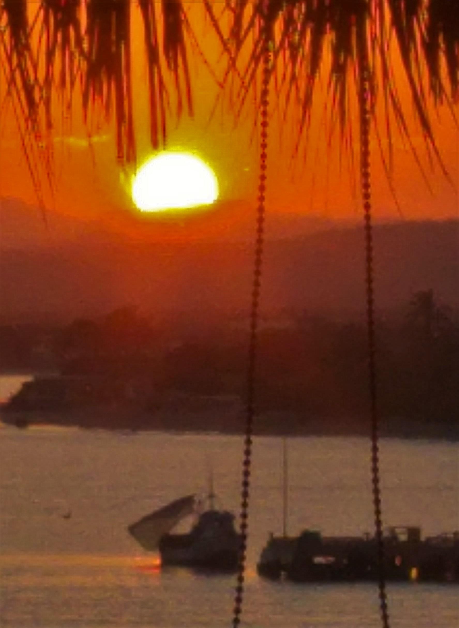 amanecer en Mancora