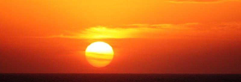los mejores sunset estan en Mancora