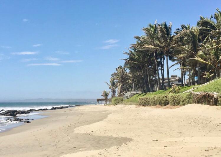 la playa en Las Pocitas