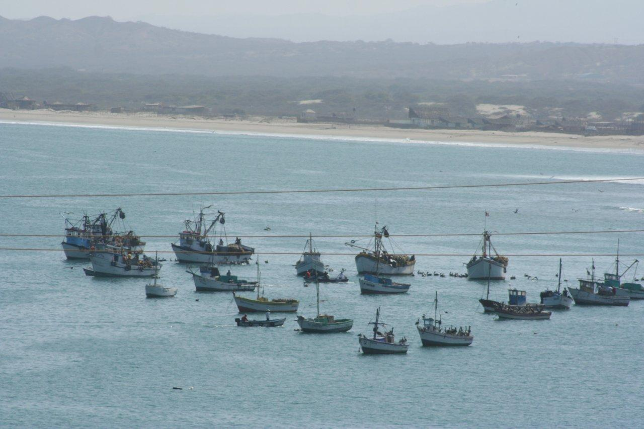 la pesca en Mancora