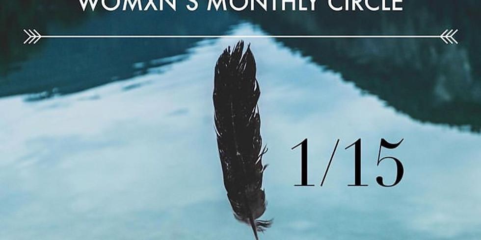 Monthly Womxn's Circle (Salt Bowl Ceremony)