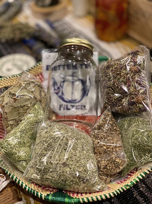 Nourishing Herbal Infusions Starter Kit