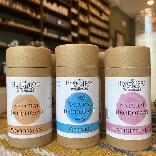 Honeyrose Botanicals Deodorants