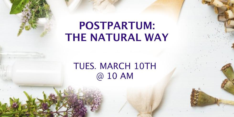 Postpartum: The Natural Way