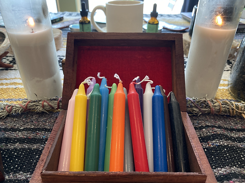Mini Spell Candles