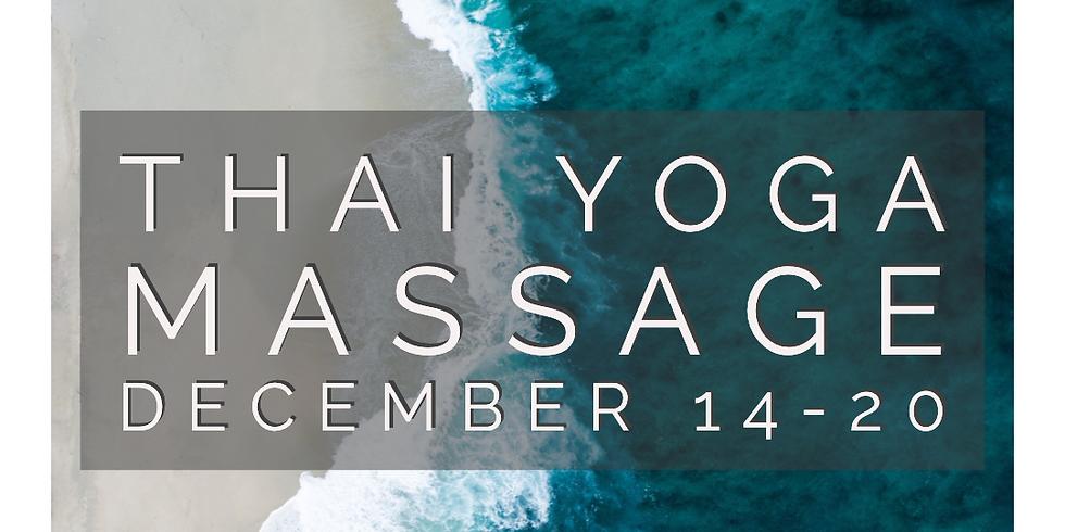Thai Yoga Massage Bodywork Sessions (1 hour)
