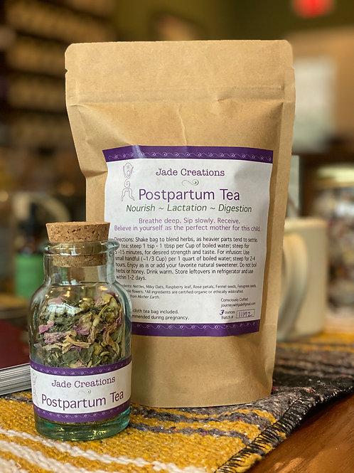 Postpartum Tea - by Jade Creations