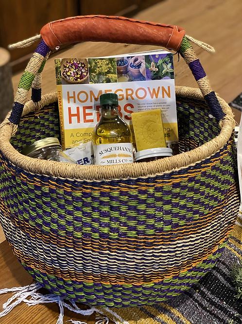 Forager's~Medicine Maker's Basket