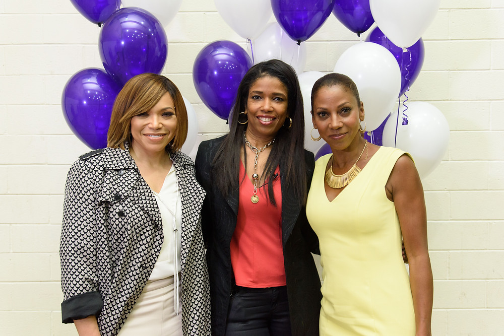 Actress Tisha Campbell-Martin, attorney Areva Martin and actress Holly Robinson-Peete participated in the Special Needs Network annual conference where autism spectrum disorder was a major topic of discussion. (Photo by Leroy Hamilton)