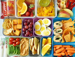 Healthy School Snacks for Your Kiddo
