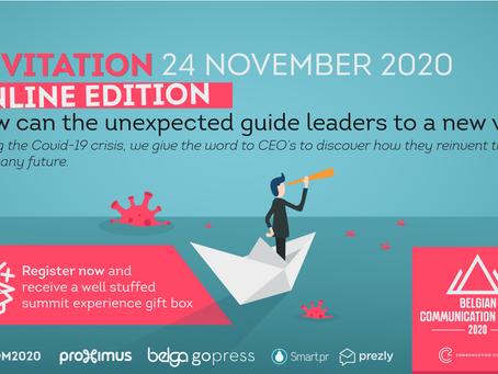 Interel Belgium invites you to: CSquare Belgian Communication Summit 2020