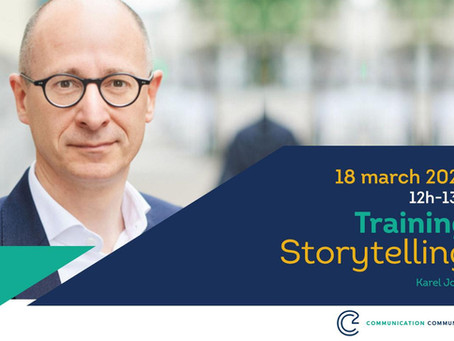 Interel Belgium invites you to: CSquare training on Storytelling