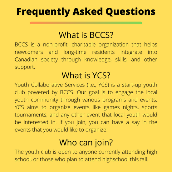 Youth Collaborative Services FAQs