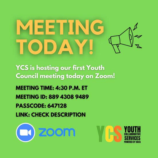 YCS Meeting Today!
