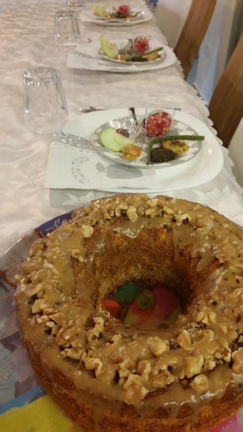 מתכון עוגת דבש של אמא