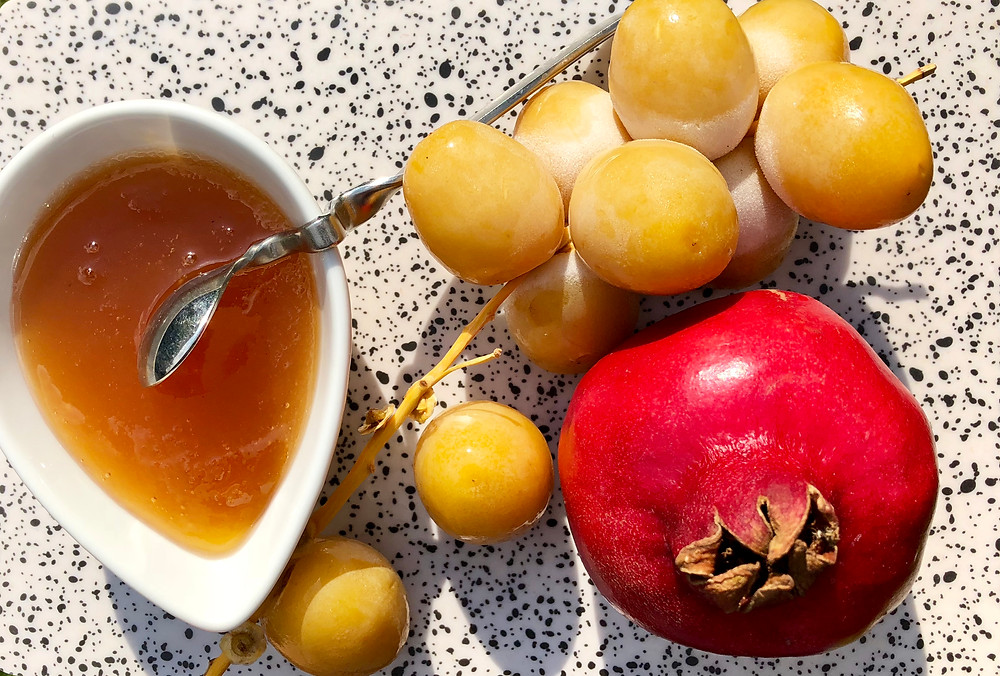 Brahi date Pomegranate Raw honey