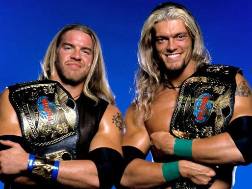 The Gorilla Position: Edge, Christian, and Roman Reigns
