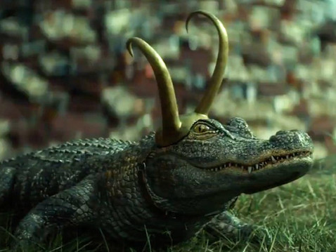 Alligator Loki Almost Wore a Costume