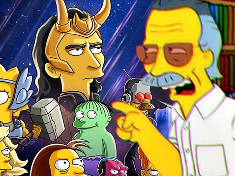 Marvel Kept a Stan Lee Cameo Out of 'The Simpsons' Loki Short