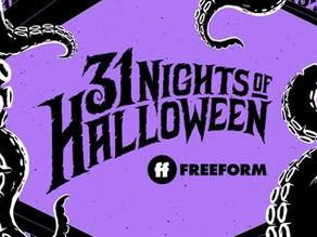 Freeform Releases Schedule for 31 Nights of Halloween