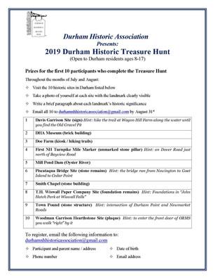 A Durham Treasure Hunt!