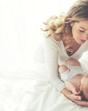 Mutter mit ihrem Kind