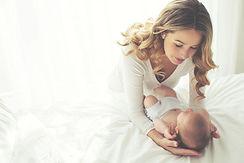 Madre con su niño