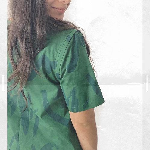 The Nika blouse in Mitshka print