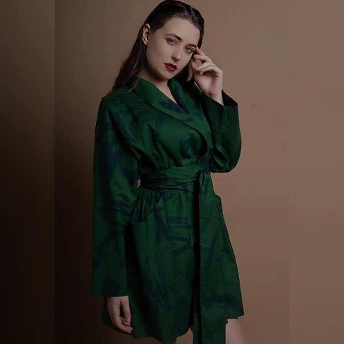 The Raissa Jacket  - Mitska Print