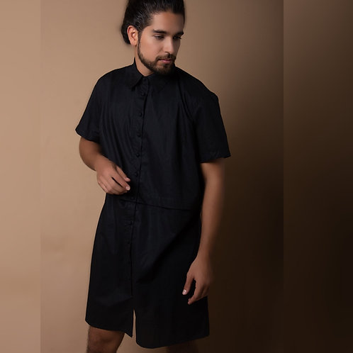 The Mary Y. Button-Down - Midnight