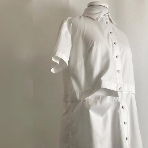 The Mary Y. Button-Down - Blanco