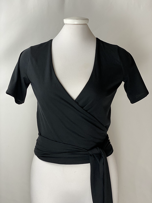 The Renny Recycled Blouse - Color Negro