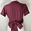 Thumbnail: The Renny Recycled Blouse - Color Vino
