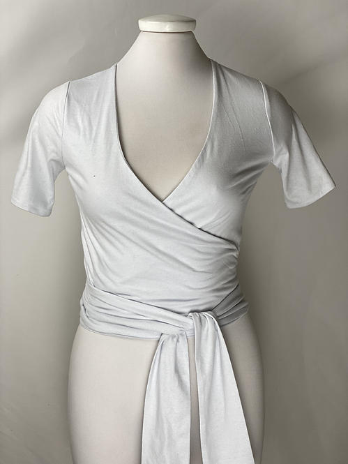 The Renny Recycled Blouse - Color Ivory