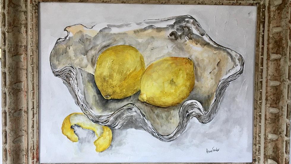 Shell with Lemons