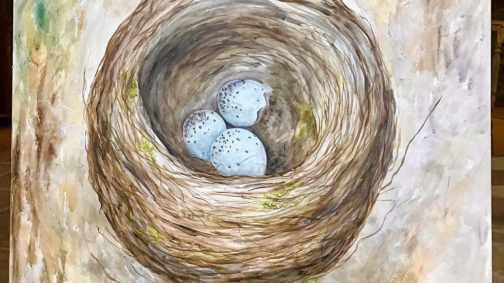 The Nest - Studio Painting