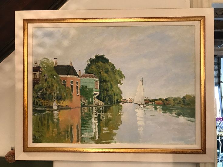 English Oil Painting By J.Clark