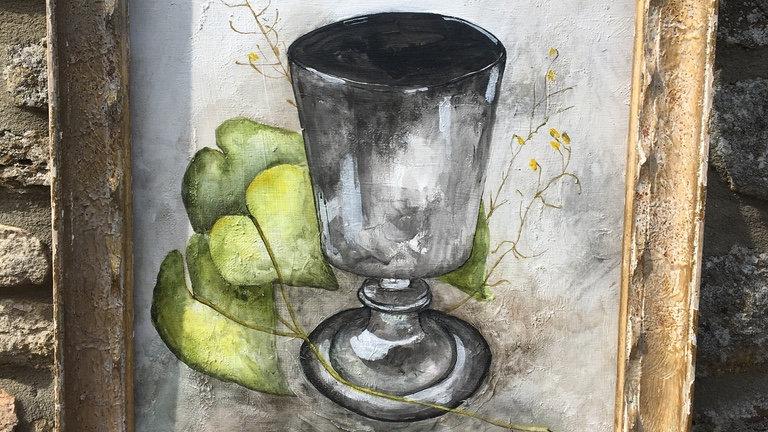 Silver Lustre - Studio Painting