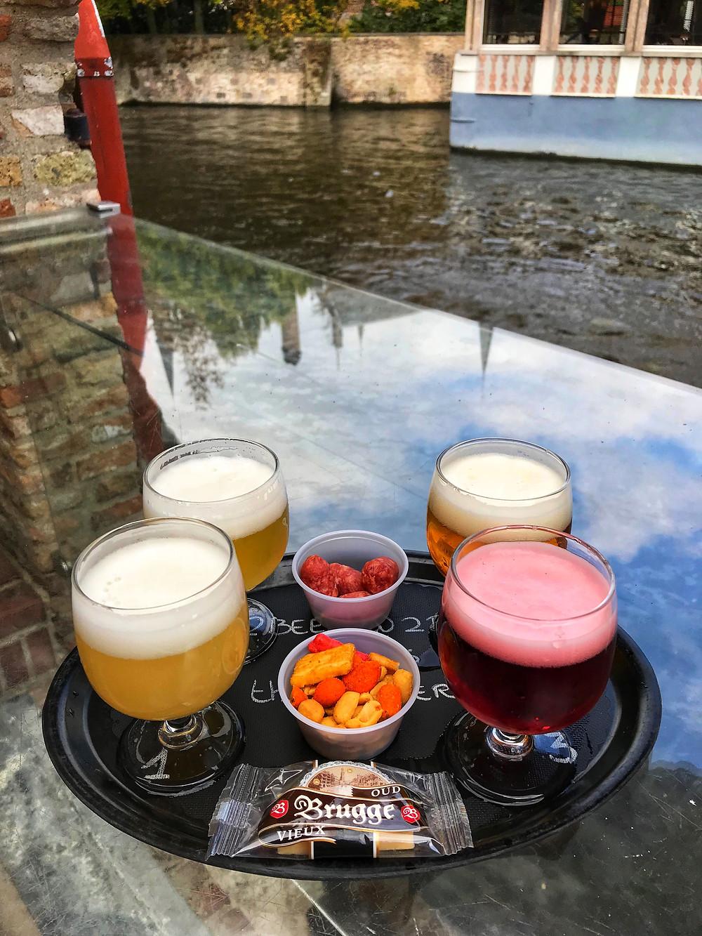Пиво Бельгии Брюгге
